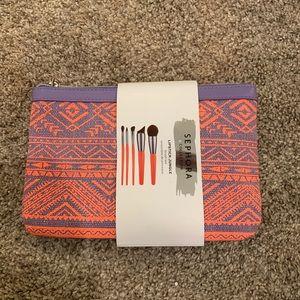 Sephora Pro brush set NWT